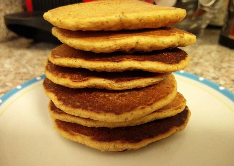 Vegan Whole-wheat Pancakes