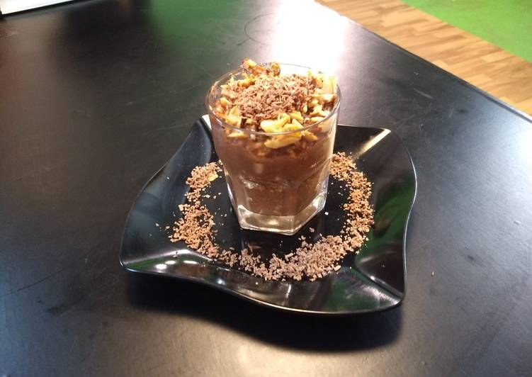 Choco Rice Pudding