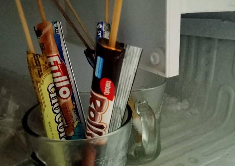 Es stik chocolatos