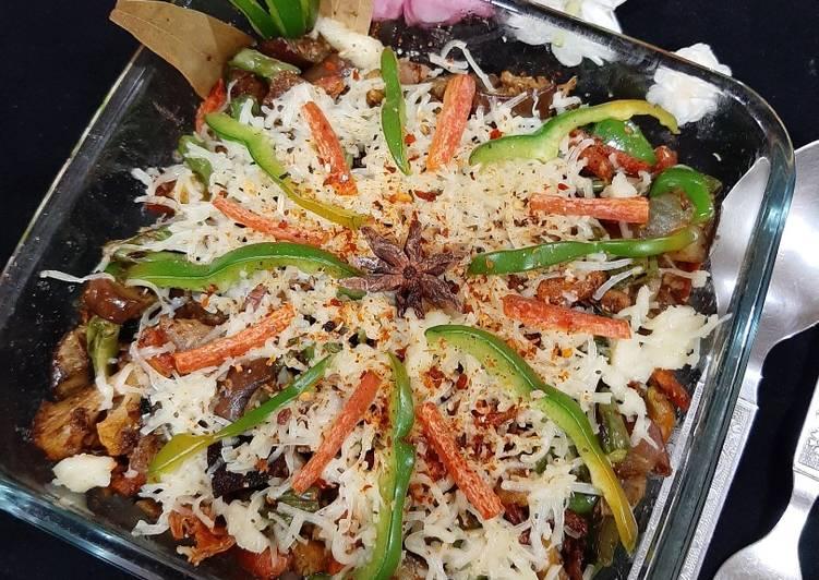 Veg and Rice Casserole