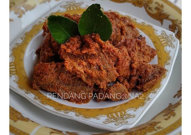 Resep Rendang Daging khas Padang, Lezat Sekali