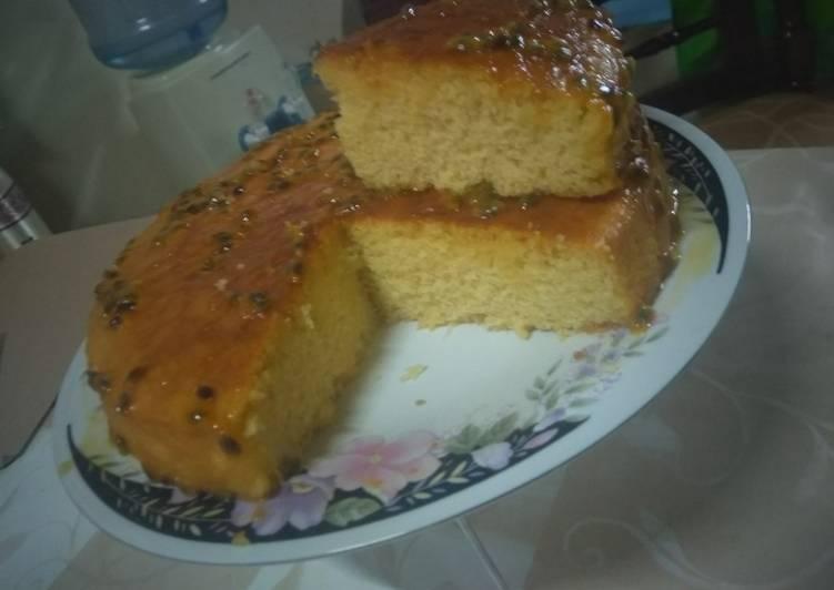 Recipe of Quick Passion fruit cake