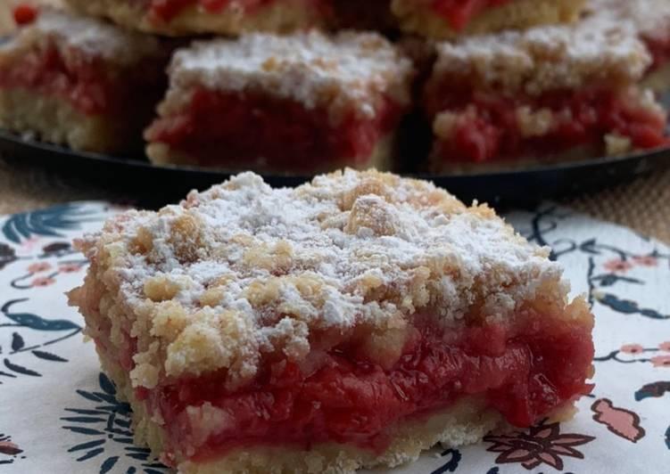 Carré croustillant aux fraises