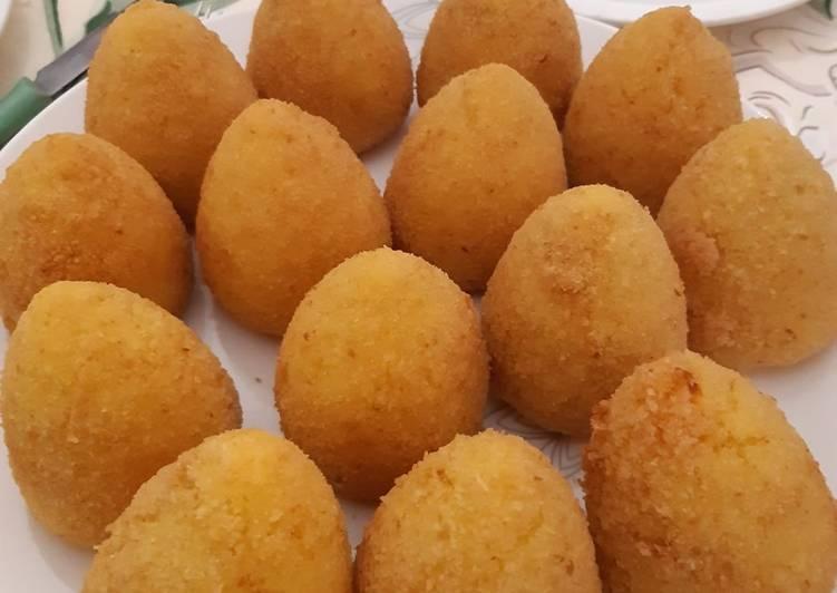 Arancini (ricetta siciliana di Alessia Edvige Attivissimo Rotaract Roma Polis)