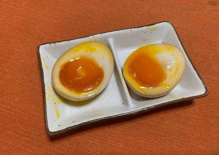 Simple Hanjuku Egg Recipeʕ·͡ᴥ·ʔ
