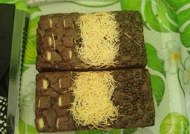 Fudgy brownies simpel