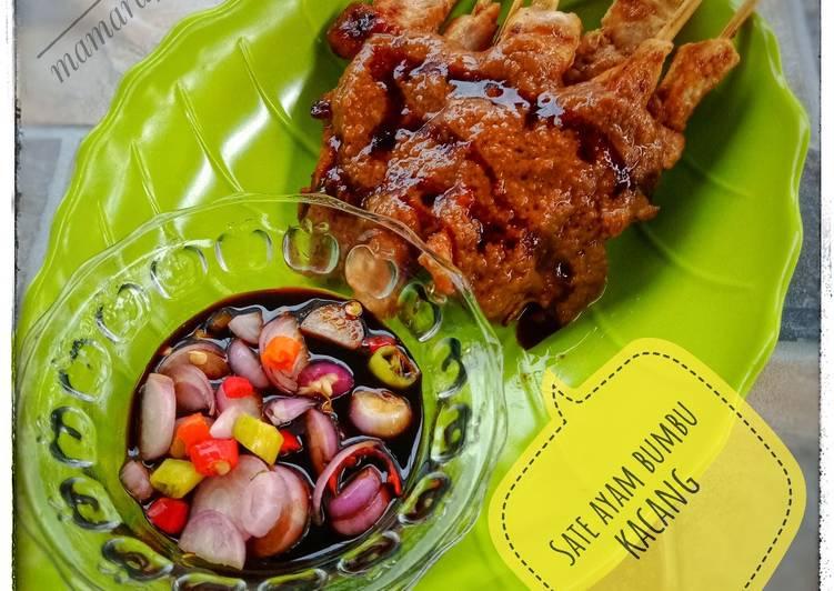 Sate ayam bumbu kacang - cookandrecipe.com