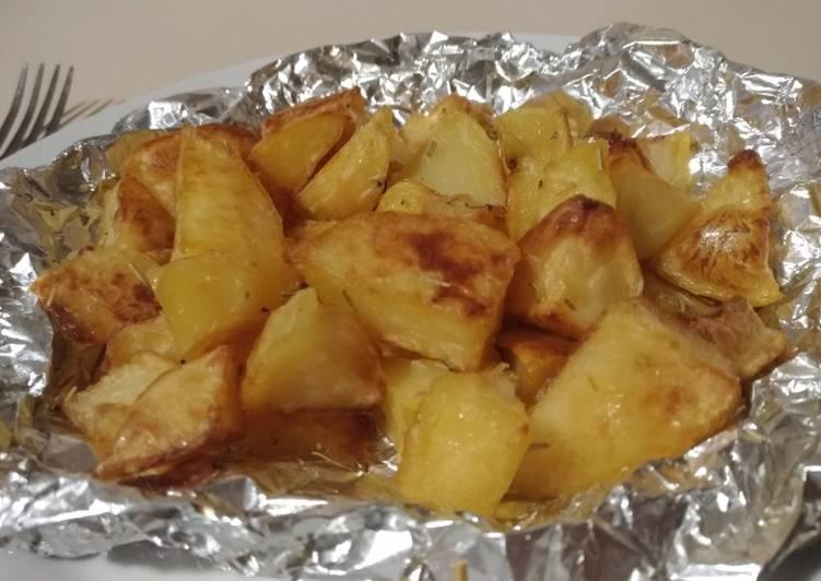 Patate al Forno (Kentang Panggang)
