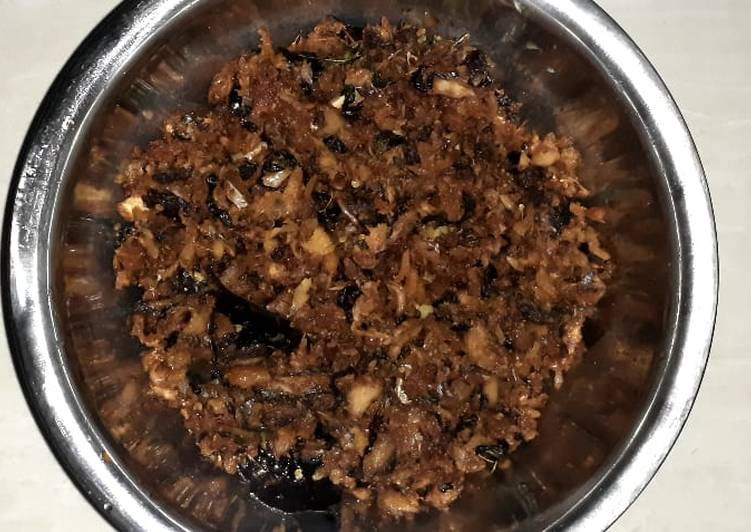 Cakalang Suwir ala bless kitchen