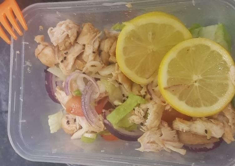 Chicken fillet salad