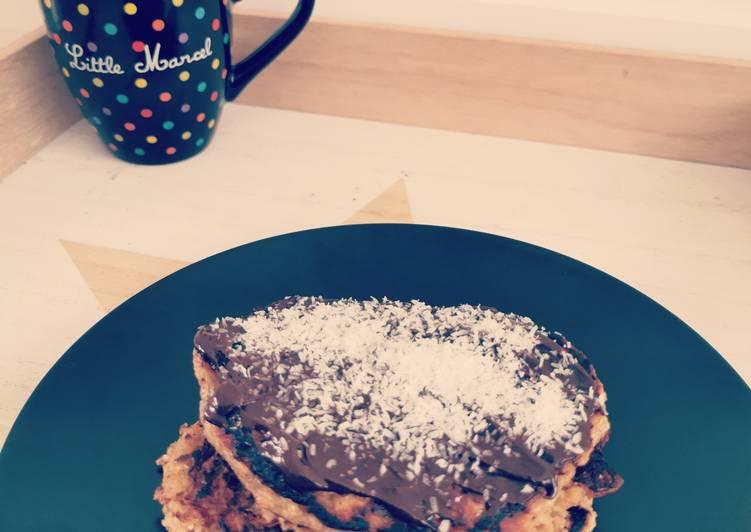 Pancakes banane avoine