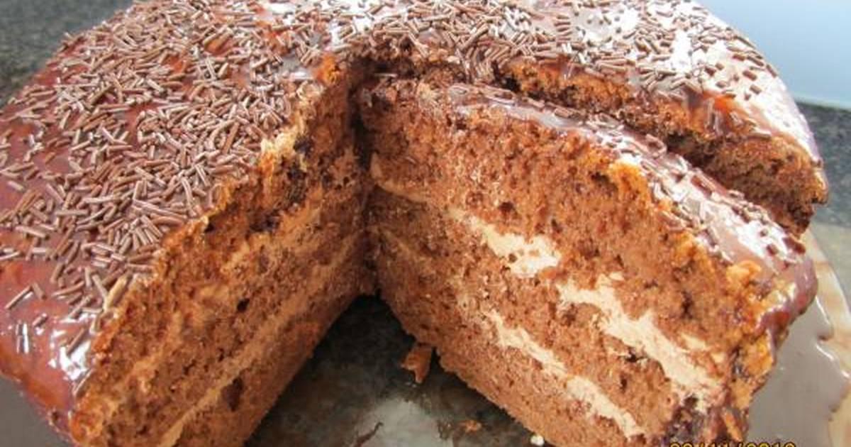 спортивный торт шифоновая прага рецепт с фото специально