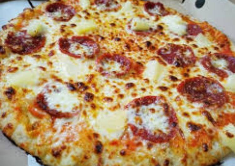 Easiest Way to Prepare Quick Pizza