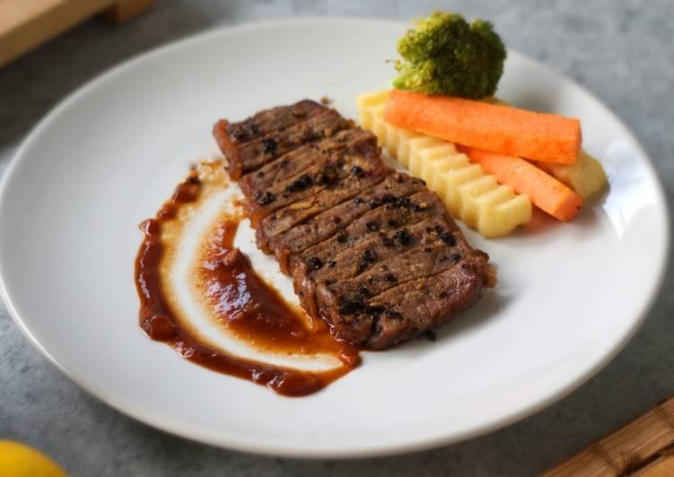 Resep Resep Steak Homemade Saus Bbq Oleh Chefmin Dapur Maspion Cookpad