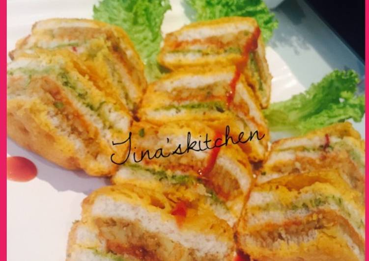 Top 100 Dinner Easy Diet Perfect Layered Bread pakora