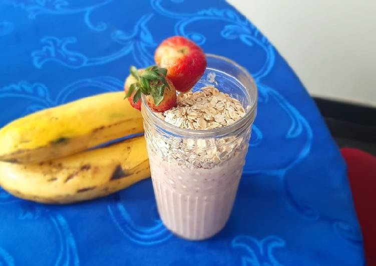 Recipe of Any-night-of-the-week Banana smoothie