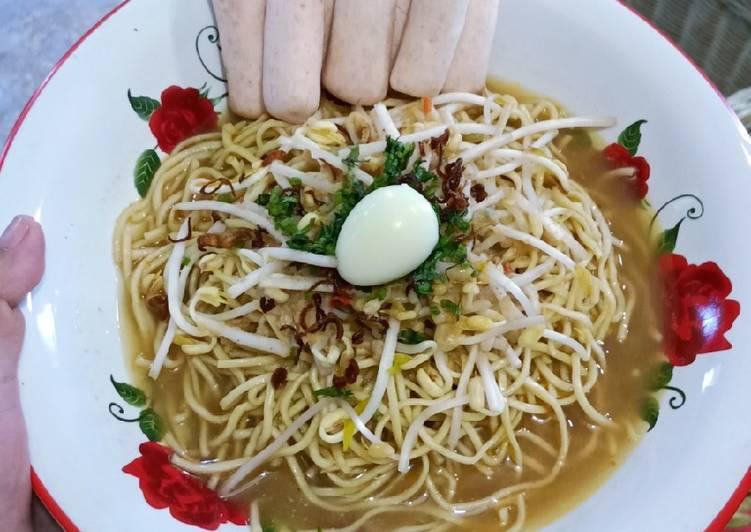 Resep Mie kuah ikan khas bangka (mie koba) Yang Mudah Bikin Ngiler