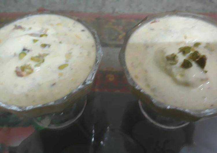 Ice cream thandai