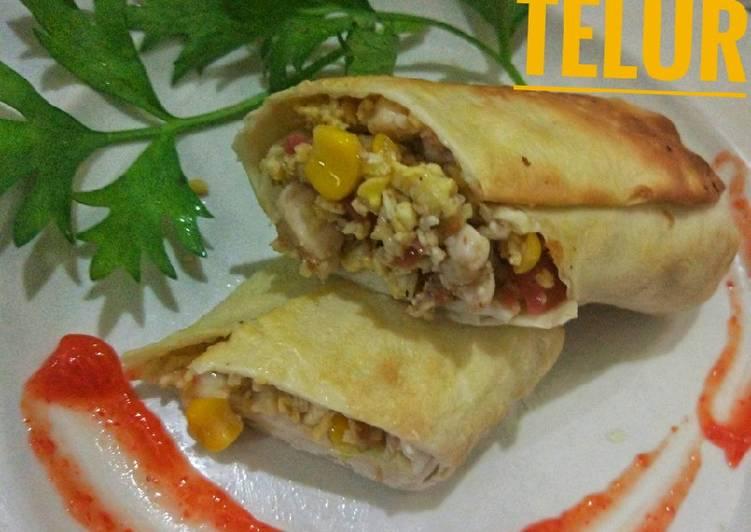 Resep Burritos Telur Oleh Shee Nokzz Cookpad