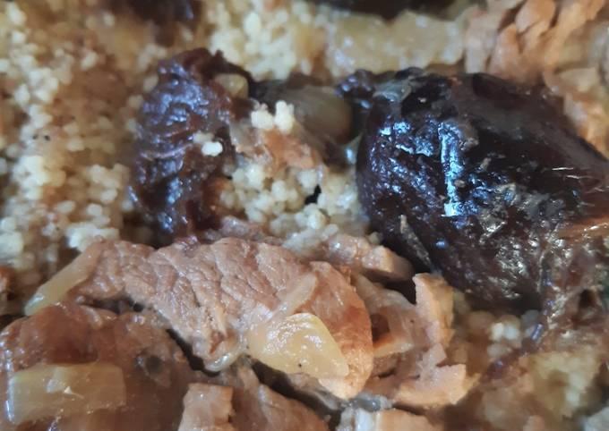 Filet mignon aux pruneaux au cookeo