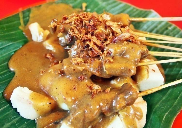 Sate Padang Kuah-Kuning🇮🇩 Padang's Satay w Yellow Thick Sauce