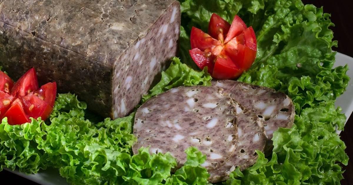 Печеночная колбаса в домашних условиях с фото