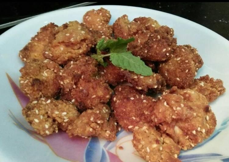 Seasame Chicken Bites