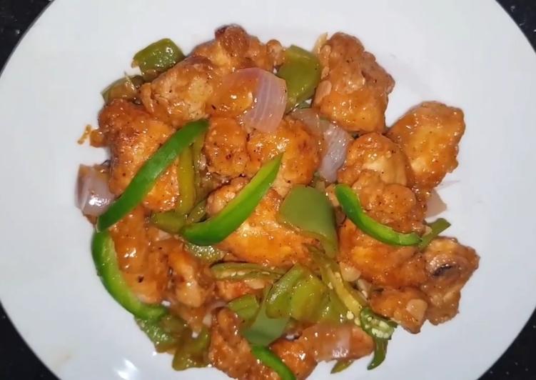 Chicken chilli dry