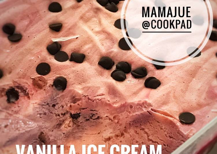 Vanilla Ice Cream With Choc Chips - resepipouler.com