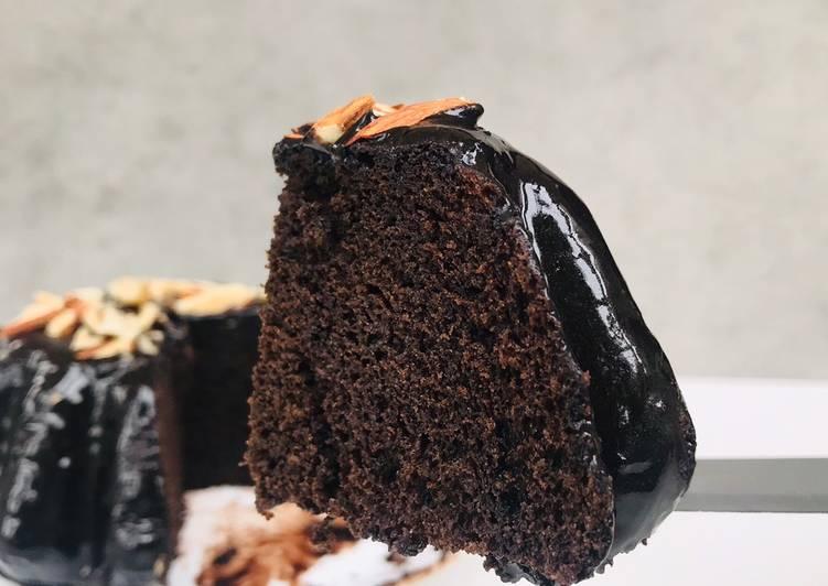 Chocolate cake No oven No refined flour
