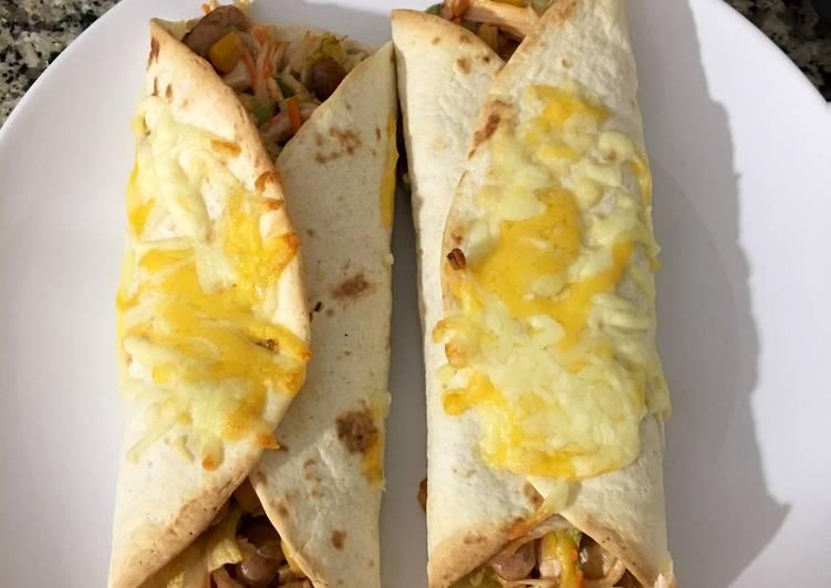 Recipe: Delicious Burrito flauta