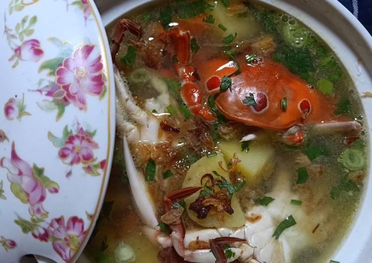 Resep Sup Kepiting Rajungan Oleh Dinda Natasya Cookpad