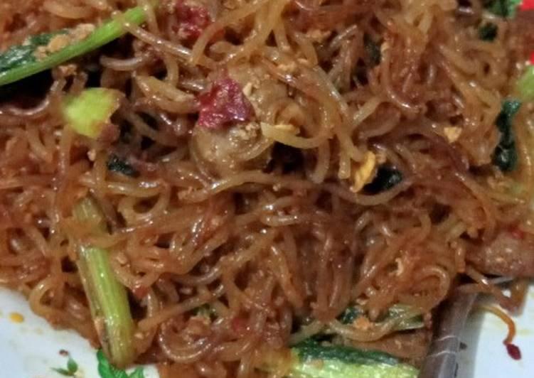 Bihun goreng simple