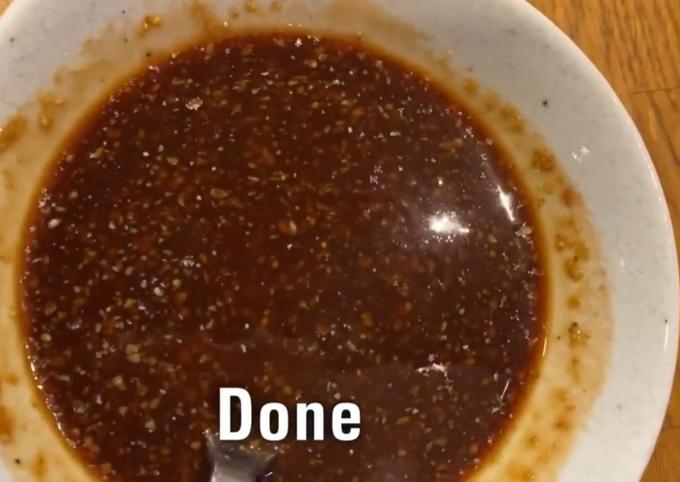 Easiest Way to Make Perfect Tonkatsu Sauce / Katsu Sauce