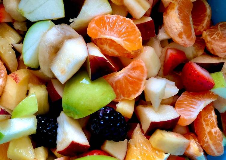 Fresh Lime Fruit Salad