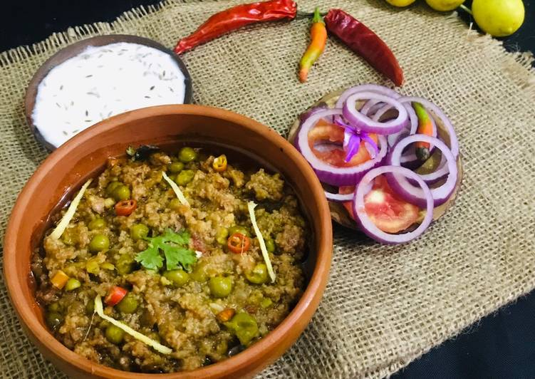 Recipe of Homemade Motton peas keema