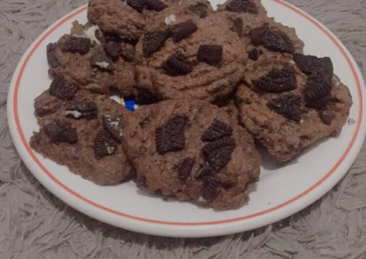 Oreo Cookies simple (no mixer, bisa dipanggang di oven atau teflon)