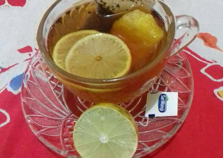 Resep Lemon Tea Hangat Anti Gagal Resep Masakan Khas Indonesia