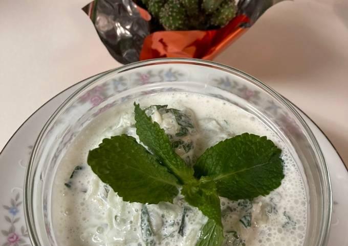 Cucumber Yogurt Appetizer