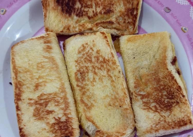 Roti bakar simple rumahan
