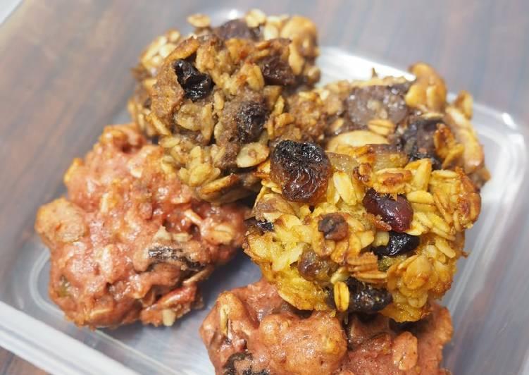 Flourless Healthy Oatmeal Cookies