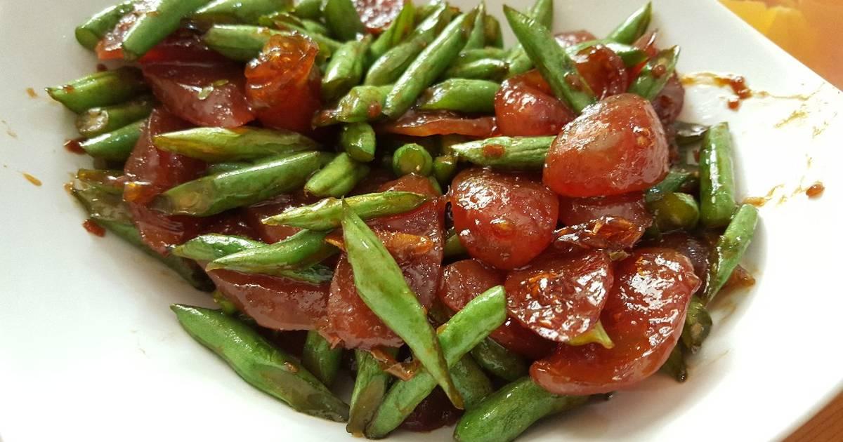 Resep Lapcheong Tumis Buncis Oleh Ells Cooking Cookpad