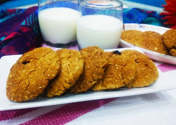 How to Make Tasty Wheat flour oats cookies
