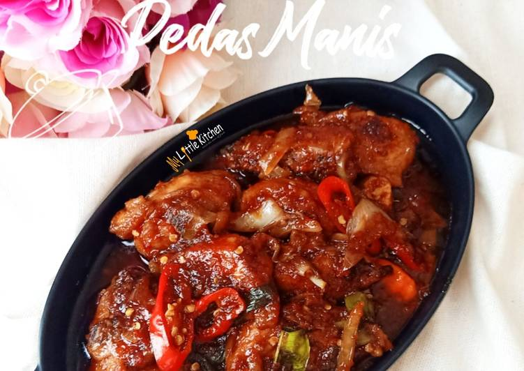 Cara Gampang Buat #57 Ayam Kecap Pedas Manis.. Wajib Recook!! Cepat