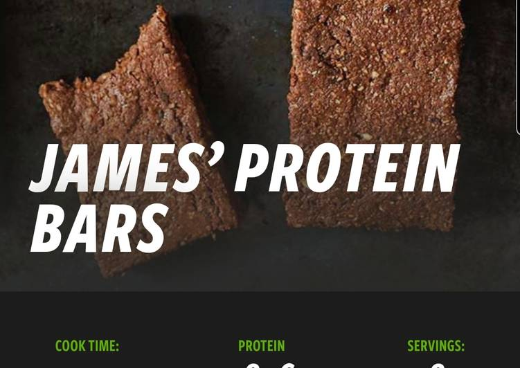 Recipe of Supreme Appetizing James protein bars