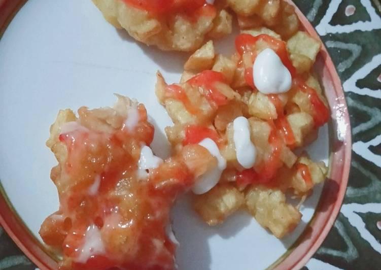 Kentang goreng korea