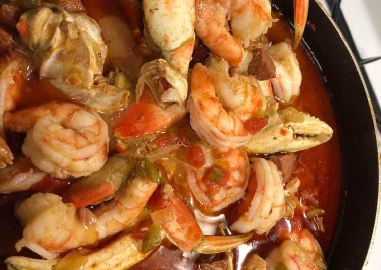 Recipe: Yummy Seafood Gumbo
