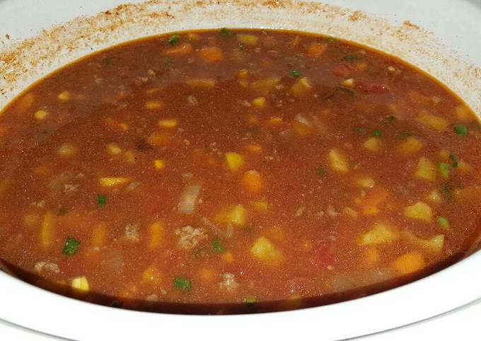 Simple Way to Prepare Jamie Oliver Slow Cooker Simple Beef Taco Soup