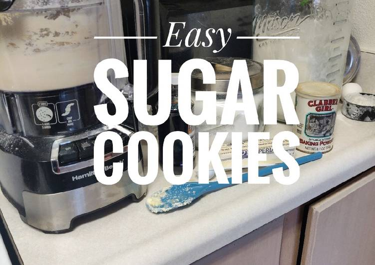 Easy Sugar Cookies