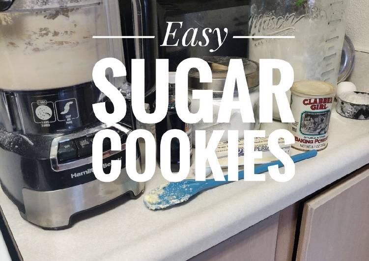 Recipe of Quick Easy Sugar Cookies
